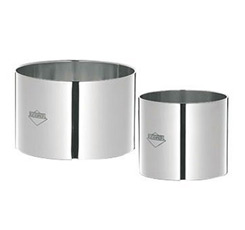 4 Piece Rosti Ring Set - Stainless Steel